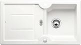 Blanco Idessa 5 S Kristallweiß Auflage Weiß Keramikspüle Küchenspüle Einbauspüle - 1