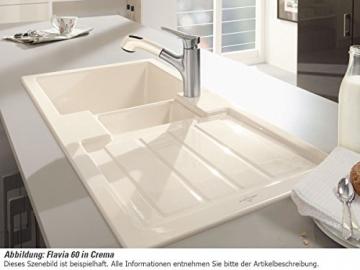 Villeroy & Boch Flavia 60 Graphit Grau Einbauspüle Küche Keramik Spülbecken - 3