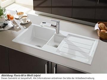 Villeroy & Boch Flavia 60 Graphit Grau Einbauspüle Küche Keramik Spülbecken - 4
