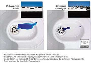 Villeroy & Boch Flavia 60 Graphit Grau Einbauspüle Küche Keramik Spülbecken - 5