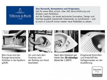 Villeroy & Boch Flavia 60 Graphit Grau Einbauspüle Küche Keramik Spülbecken - 7